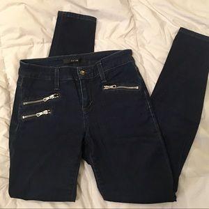 Joe's Jean Moto Skinny Jeans